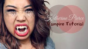 vampire diaries katherine pierce vampire tutorial youtube