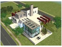 Home Design For The Sims 3 Modern House Plans For The Sims 3 U2013 Modern House
