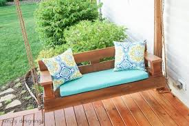 How To Build Patio Furniture 23 Free Diy Porch Swing Plans U0026 Ideas To Chill In Your Front Porch