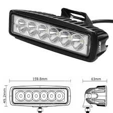 Led Driving Lights Automotive Annt Annt 6inch 18w Led Work Light Bar Spot Driving Lights