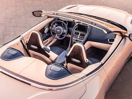 aston martin db11 interior aston martin db11 volante convertible photos details business