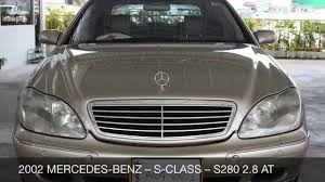 2002 mercedes benz s class s280 2 8 at youtube
