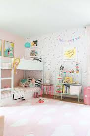 Kids Bedroom Wall Decals A Shared Bedroom With Bunk Beds Bedroom Wall Decals Kids Rooms