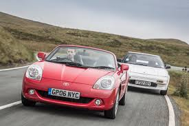 toyota sports car toyota sports cars past and present mr2 vs mr2 toyota