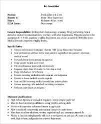 Medical Office Assistant Job Description For Resume by Medical Coding Job Description Sample Resume Receptionist