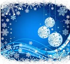 christmas snow ball blue background vector free vectors ui