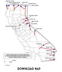 Interior Border Patrol Checkpoints California Border Protection Stations