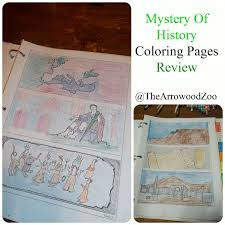 the arrowood zoo mystery of history coloring pages review
