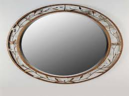 decorative oval bathroom mirrors how to make decorative bathroom