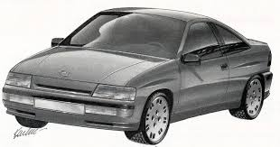 opel japan 1989 a gm coupe to rival japanese