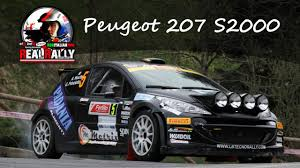 peugeot 207 rally realrally 2015 peugeot 207 s2000 youtube