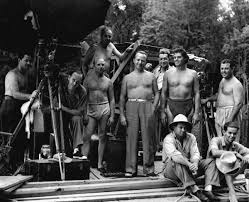 florida memory johnny weissmuller mgm crew filming