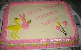 yay healthy recipes baby shower cakes
