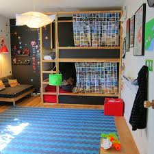 Kidfriendly DIYs Featuring The IKEA Kura Bed - Ikea bunk bed kura