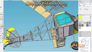 wing folding cad demo youtube