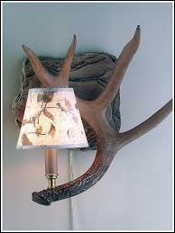 Antler Wall Sconce Cabin Wall Lamps And Sconces U2013 Cabin And Lodge