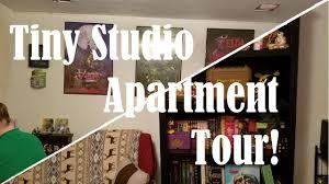 Tiny House 250 Square Feet by Tiny Studio Apartment Tour 250 Square Feet Youtube