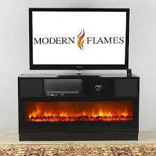 Media Center With Fireplace by Modern Flames Electric Fireplaces