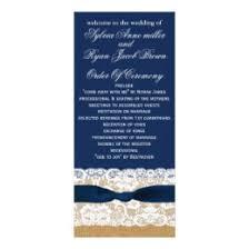 tea length wedding programs tea length wedding programs rack cards zazzle