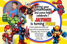 how to create superhero birthday invitations u2014 all invitations ideas