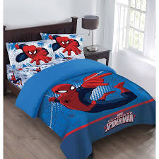 Spiderman Double Duvet Marvel The Spiderman Webbed Wonder Twin Comforter Set With Fitted