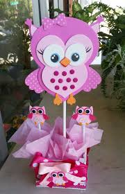 owl baby girl shower decorations adorable pink owl baby shower centerpieces by bettysgiftsandrafts