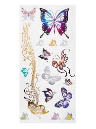 delicate butterfly sticker emmacloth fast fashion