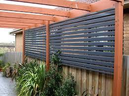Open Patio Designs by Gravel Patio Designs Stylish Privacy Garden Fence Ideas Modern