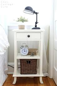 Bedside L Ideas | bedside tables for small spaces nightstand decorating ideas jones