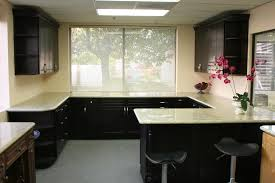 Espresso Kitchen Cabinets With Granite Unity Cabinet U0026 Granite