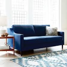 Blue Sleeper Sofa Best 25 Loveseat Sleeper Sofa Ideas On Small Sleeper