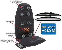 Massage Pads For Chairs Massage Cushion Back Heat Home Car Motor Body Chair Seat Lumbar