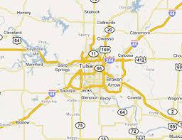 map of tulsa tulsa metro area web design development firms on the firm list usa