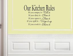 Quotes For Dining Room by Kitchen Wall Decals Interior Beauty