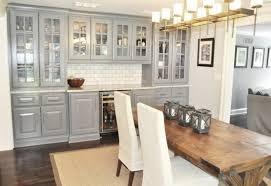 cuisine bois gris cuisine gris et bois en 50 modèles variés pour tous les goûts