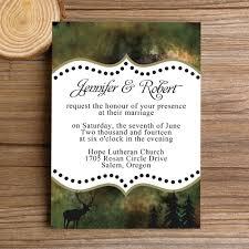 wedding invitations canada camo wedding invitations design