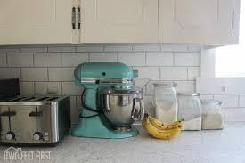 temporary kitchen backsplash 11 temporary kitchen updates that look amazing hometalk