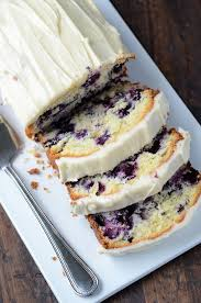 blueberry lime cream cheese pound cake cookingrecipecentral