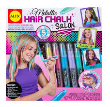 hair beading alex toys spa metallic hair chalk salon toys r us