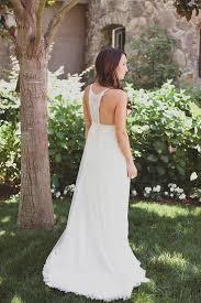 backyard wedding dresses boho chic backyard wedding