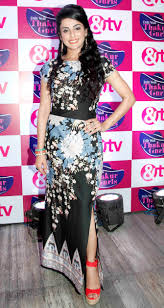 sara afreen khan at the launch of the tv show u0027dilli wali thakur