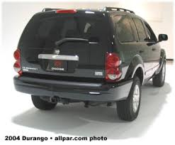 2003 dodge durango rear differential 2004 2009 dodge durango adding power features and reliability
