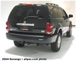 2004 dodge durango specs 2004 2009 dodge durango adding power features and reliability