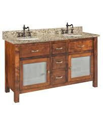 amish bathroom cabinets lincoln executive desk from dutchcrafters