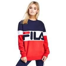 women sweatshirts u0026 knits sale womens best sales fila mcdermot