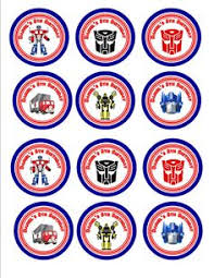 transformer cake toppers 25 images of transformer cookie template boatsee