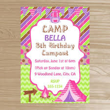 52 best camp bday images on pinterest camping parties birthday