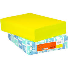 domtar hots 81322 lime color paper 8 1 2 x 11