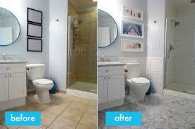 Bathroom Before And After Photos Before U0026 After Guest Bathroom Jen Angotti Jen Angotti