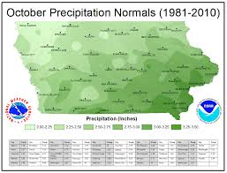 National Temperature Map Iowa Climate Normals Maps